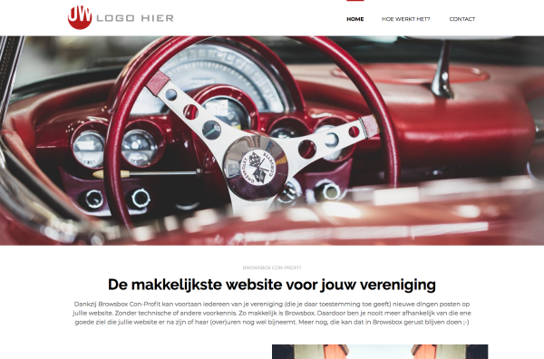 Browsbox Con-Profit website rood